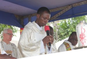 Rev. Father Silas Sapaty, Date Ordained: 16th August, 2014. Current Station: St. Joseph the Worker, Tema